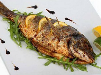 Dorada fish grill (weight product)