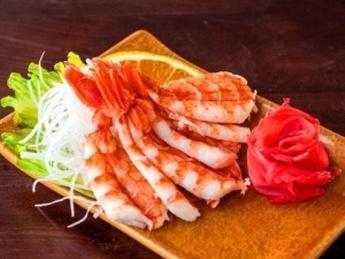 Sashimi crevetă