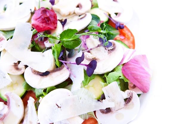 Овощной салат-карпаччо