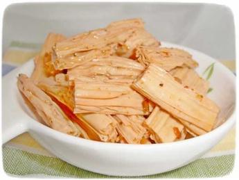 Sparanghel de soia cu dressing picant