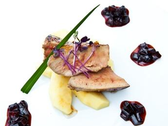 Foie-gras cu pară