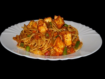 Paneer chow mein