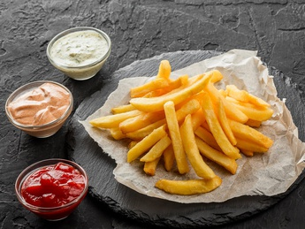 French fries (100g)