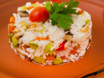 Рис с овощами (постное)