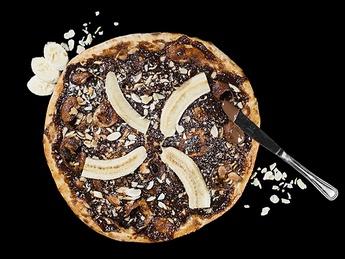 Pizza Con Nutella