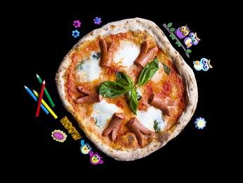 Pizza Salsicce Bambine