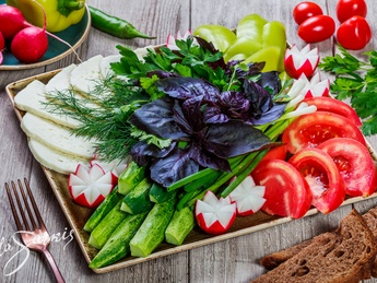 Platou cu legume Doina