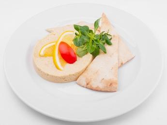 Humus with pita