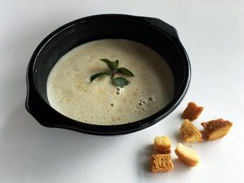 Суп-крем грибной