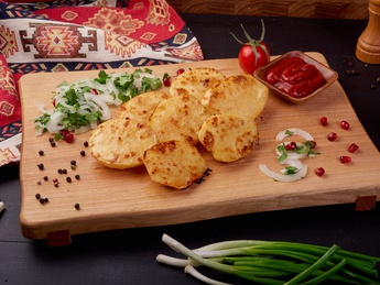 Potatoes on grabber (raw weight)