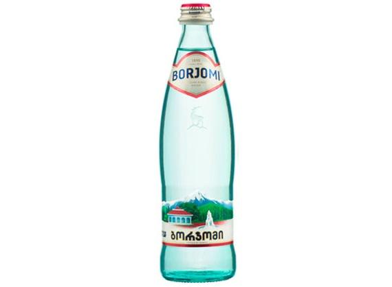 Газированная минеральная вода Borjomi