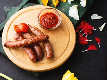 Sausages grill
