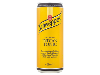 Schweppes tonic 0,33 l