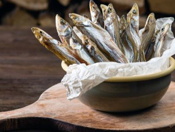Cured smelt (weight product)