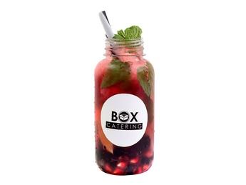 Lemonade with berries 500 ml.