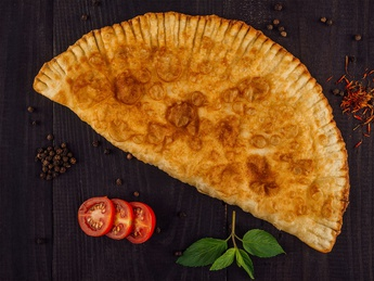 Gozleme with 4 types of cheese