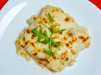 Lasagne with chicken