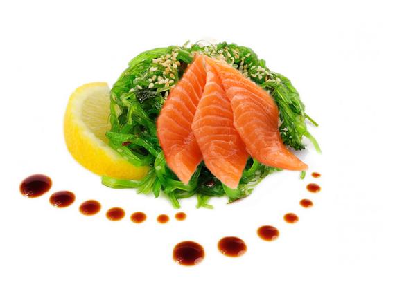 Salad Chuka Sake