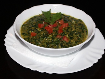 Dal palak curry
