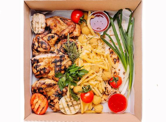 Куриный обед smart Box