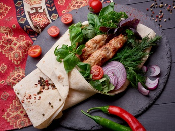 Chicken kebab (raw weight)
