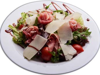 Salad with Prosciutto crudo & parmigiano