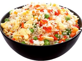 Рис Стир-Фрай с овощами