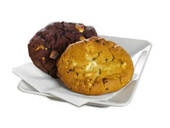 Coockie with and chocolate