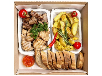 Обед из мяса smart Box