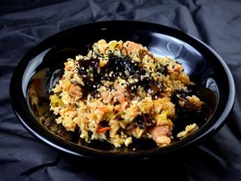 Thai rice with chicken