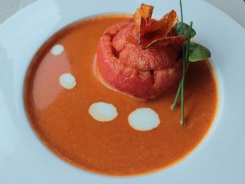 Капи Суп и томат c секретом