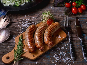 Pork sausages (weight product)