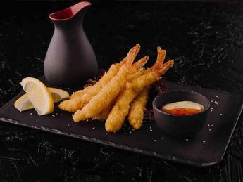 Tiger shrimp tempura
