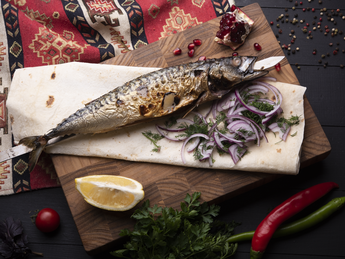 Mackerel on grabber
