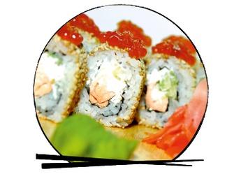 Ikura roll