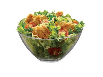 Salad KFC Fillet Bites