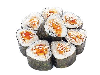 Sake Aburi Maki 8 buc.