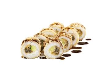 Unagi tempura hot roll