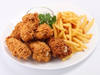 Chicken wings pané