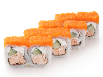 Roll Philadelphia with baked Salmon