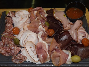 Piatto di carni