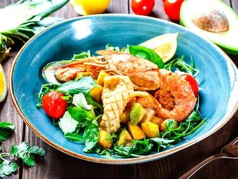 Sea Exotica warm salad