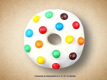 M&M пончик