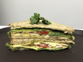 Club Sandwich with turkey