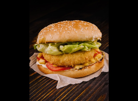 NO MEAT burger
