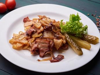 Potatoes & bacon