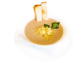 Supă-cremă din ciuperci