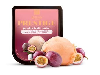 Sorbet din fructul pasiunii