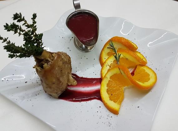 Turkey in citrus sauce