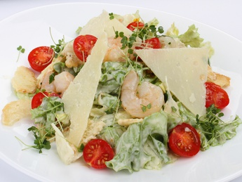 Salad Shrimp caesar